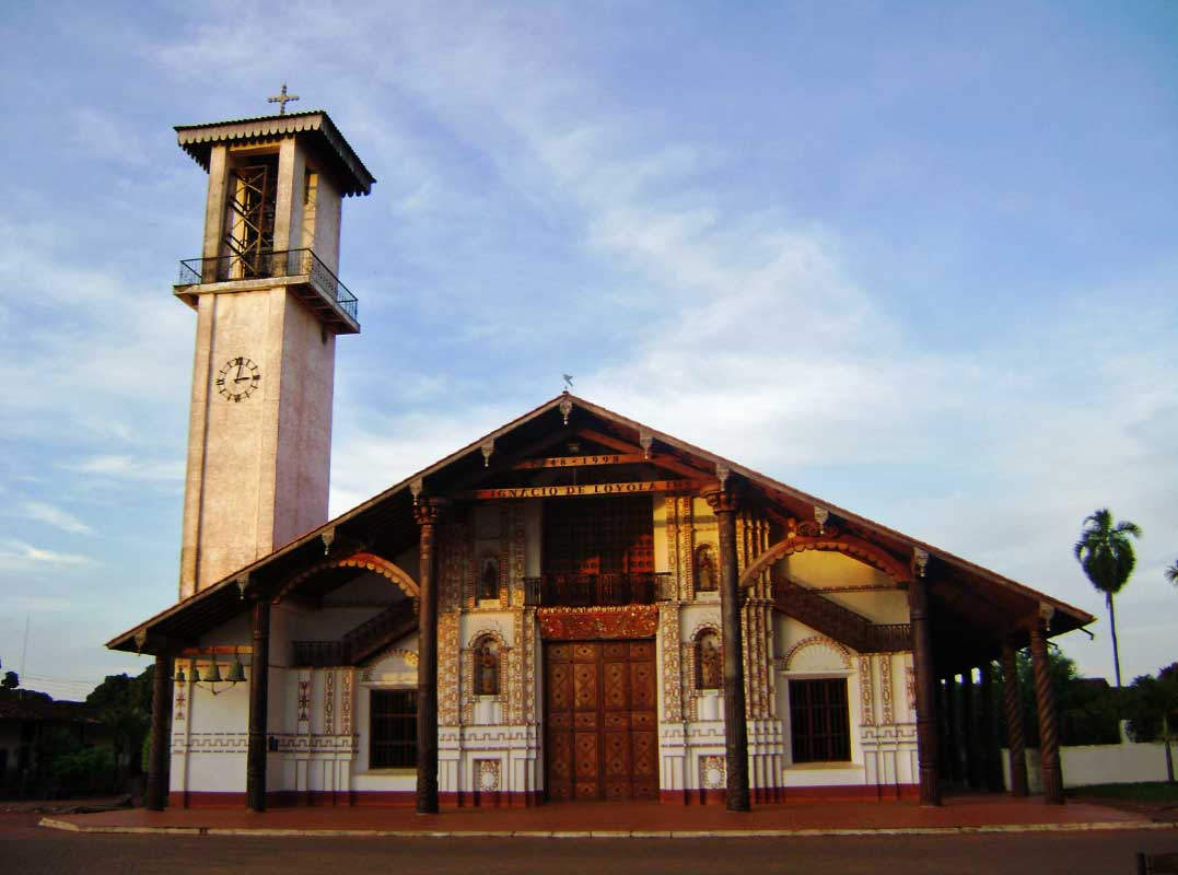 Vista del Templo de Misiones